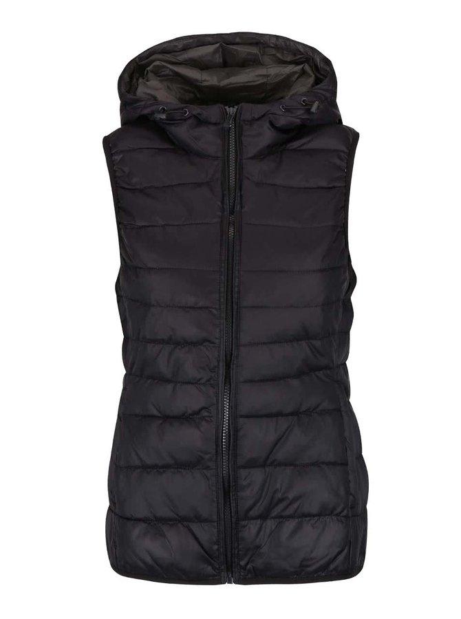 Čierna prešívaná vesta ONLY Tahoe