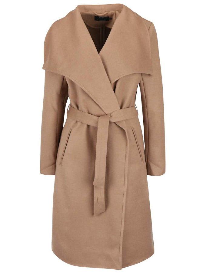 Svetlohnedý kabát ONLY New Phoebe