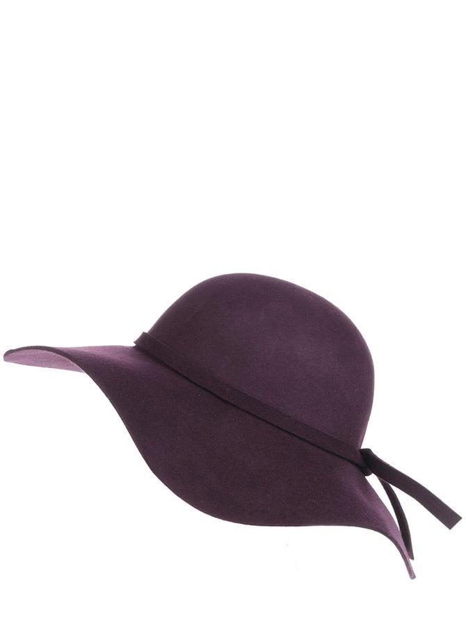 Vínový klobouk ONLY Amara
