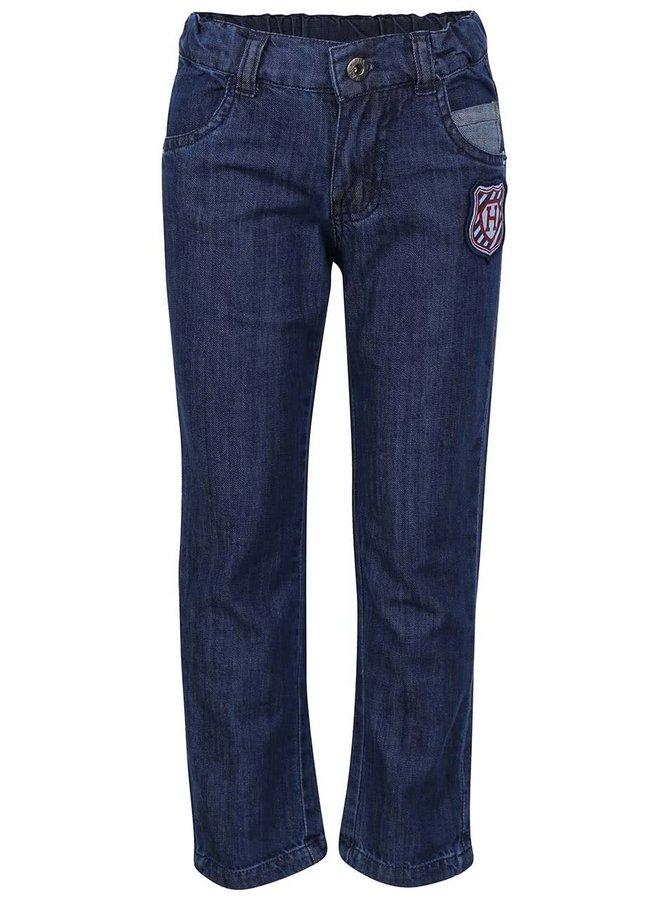 Modré chlapčenské rifľové nohavice s logom 5.10.15.
