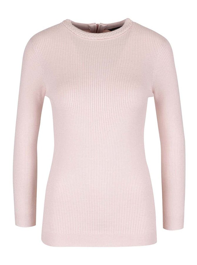 Pulover subțire Dorothy Perkins roz