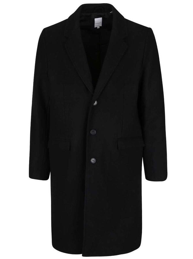 Čierny dlhý kabát Lindbergh