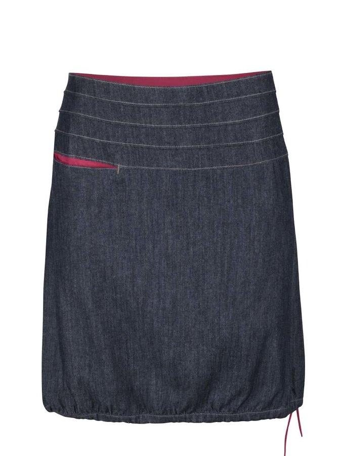 Šedomodrá denimová sukně s kapsou Tranquillo Uppsala