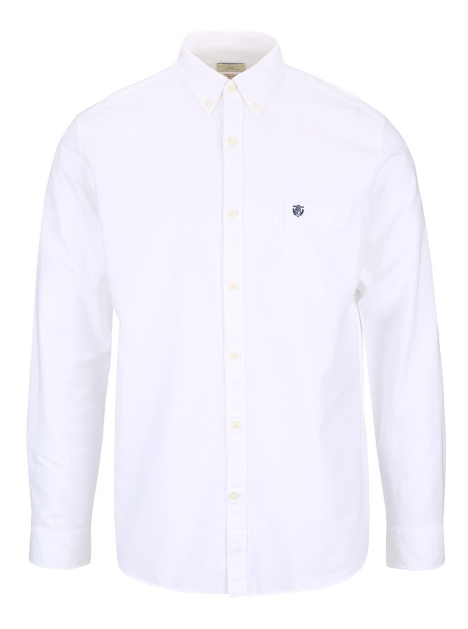 Biela košeľa Selected Homme Collect