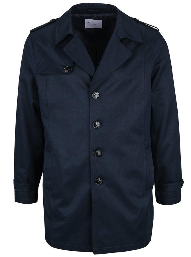 Tmavomodrý ľahký kabát Selected Homme New Adams