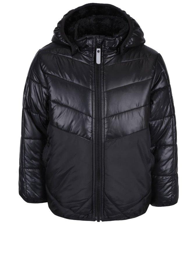 Čierna dievčenská zimná bunda name it Beta