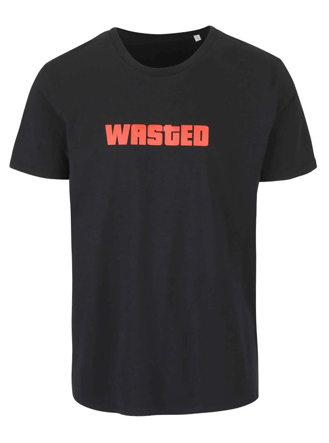 Tricou negru ZOOT Originál Wasted de bărbați