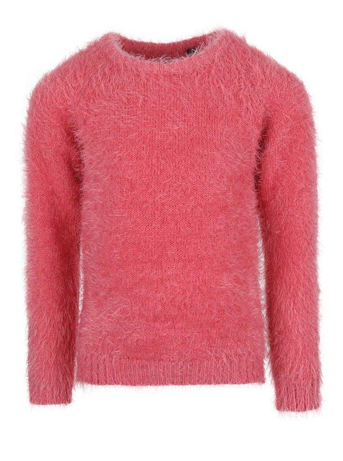 Ružový dievčenský sveter Blue Seven