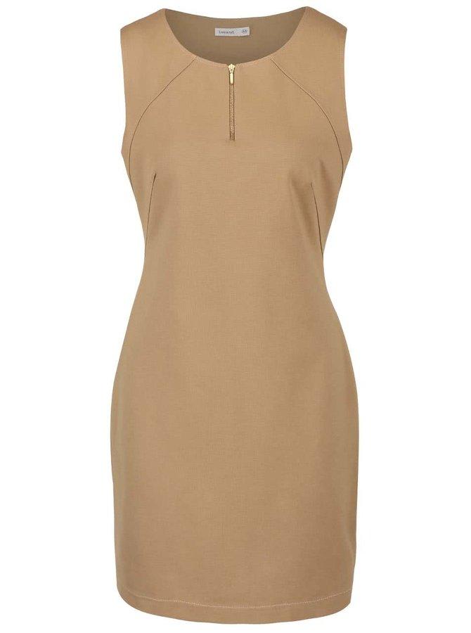 Béžové šaty Lavand