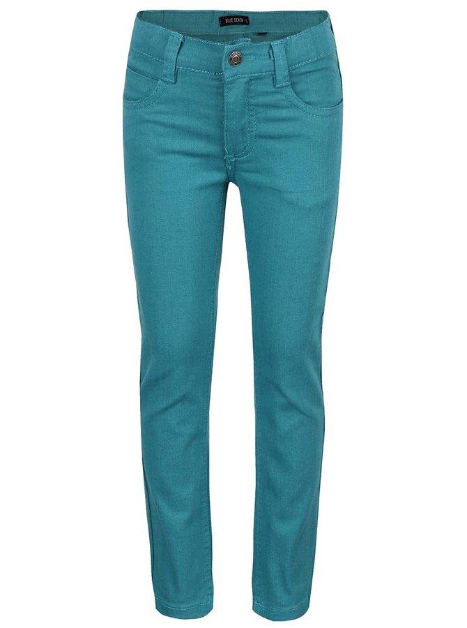 Tyrkysové klučičí džíny Blue Seven