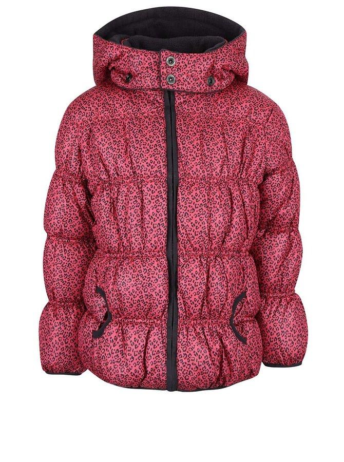 Jachetă roz Blue Seven cu model discret pentru fete