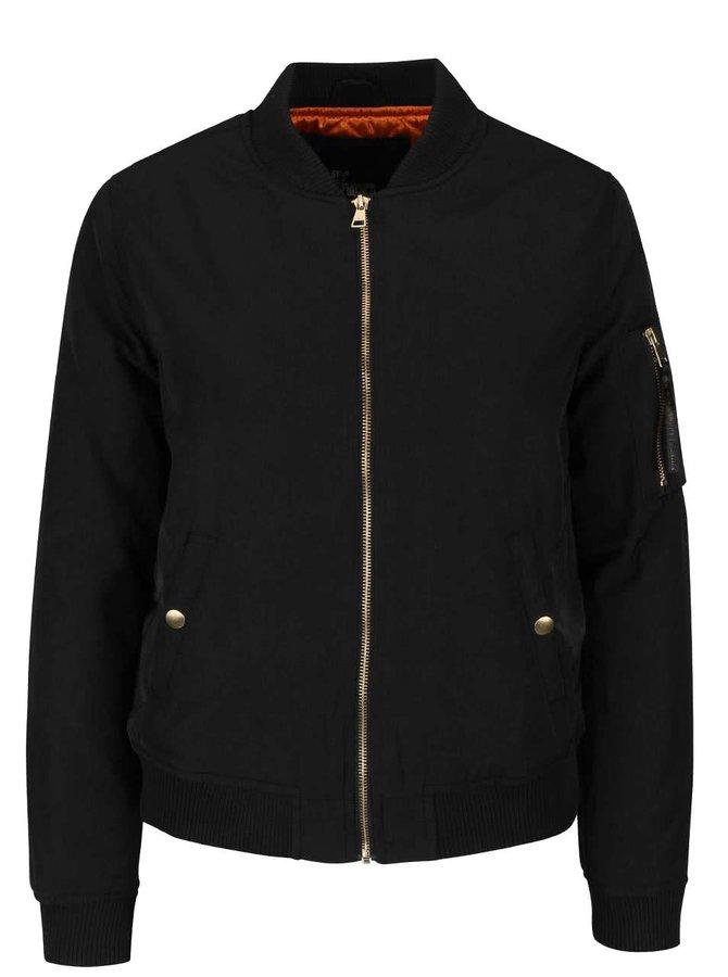 Jachetă bomber negru Haily´s Lucia