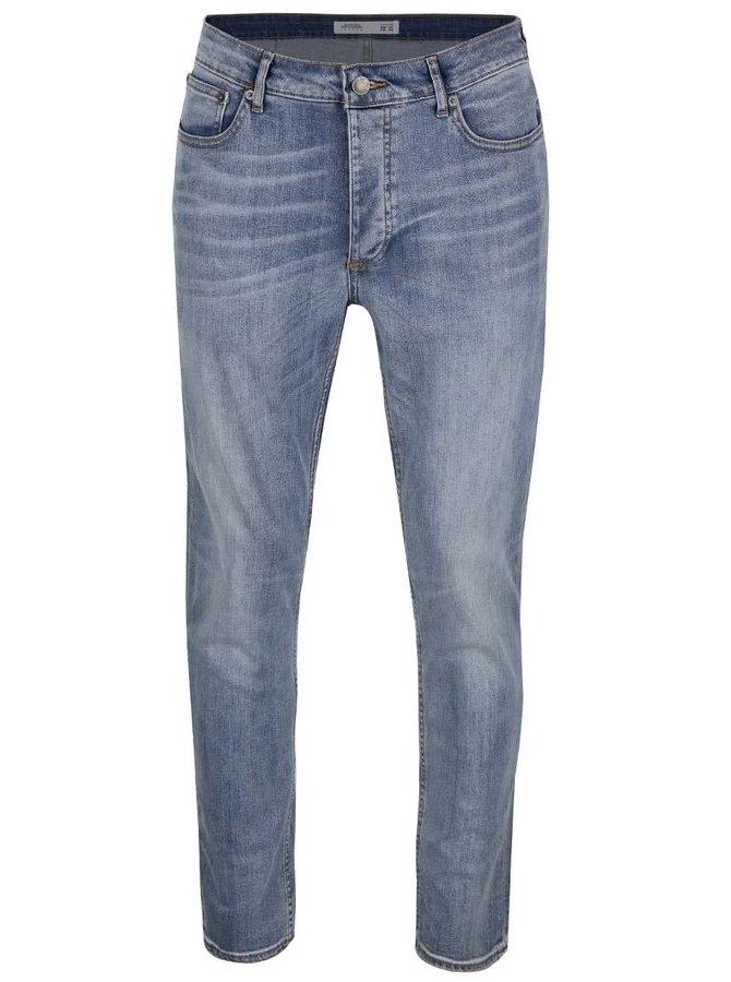 Světle modré džíny s ošoupaným efektem Burton Menswear London