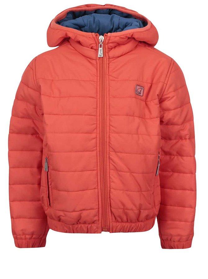 Geacă matlasată portocalie North Pole Kids pentru băieți