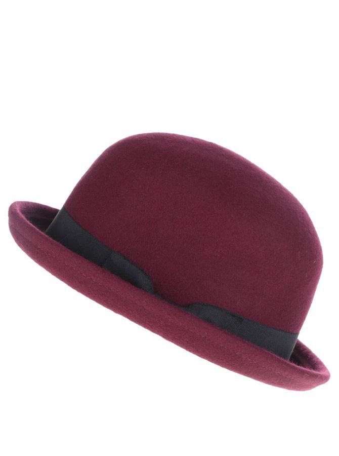 Vínový klobouk ONLY Shaya