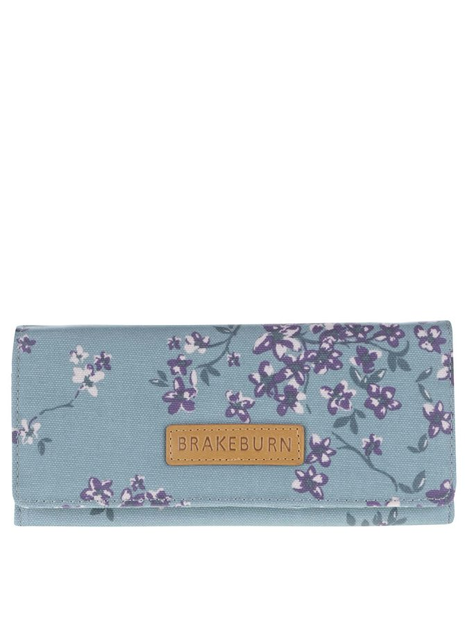 Svetlomodrá kvetinová peňaženka Brakeburn Blossom