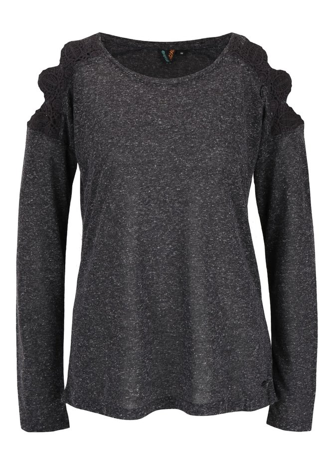 Bluză gri Rip Curl Quilotta cu model discret pentru femei