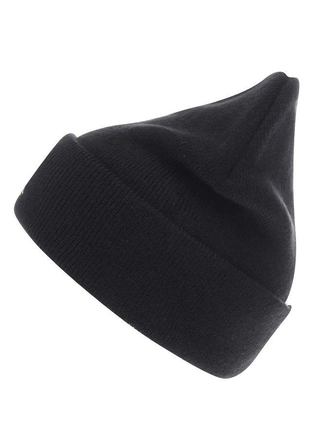 Černá čepice s výšivkou jednorožce TALLY WEiJL