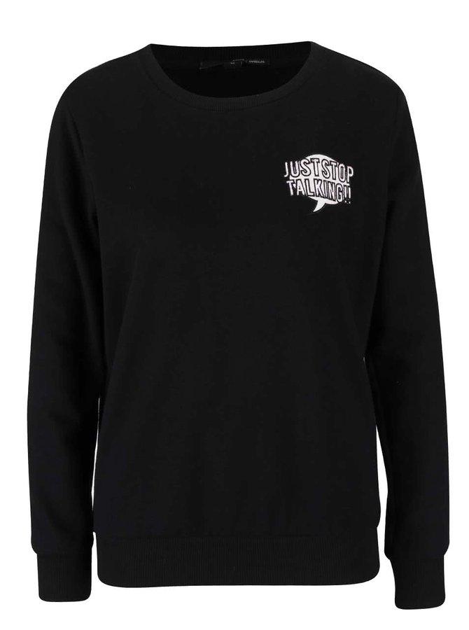 Bluză neagră TALLY WEiJL pentru femei