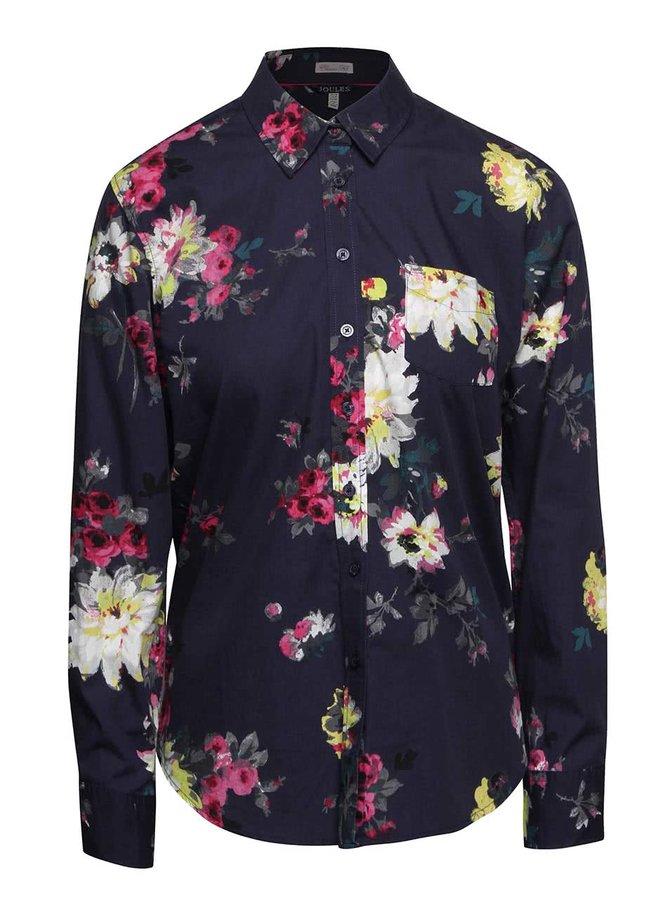Modrá dámská košile s květy Tom Joule Lucie