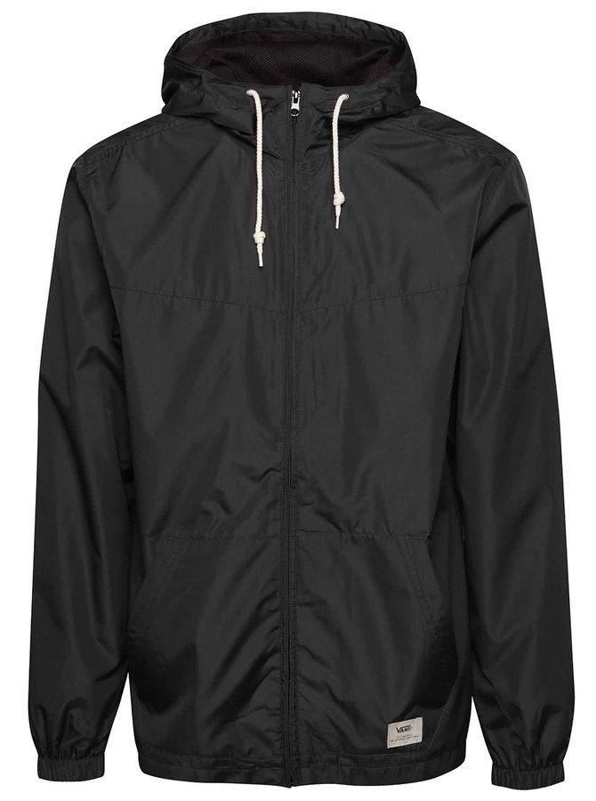 Tmavosivá pánska bunda s kapucňou Vans Woodberry
