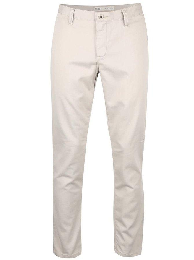 Béžové pánské chino kalhoty Vans Gr