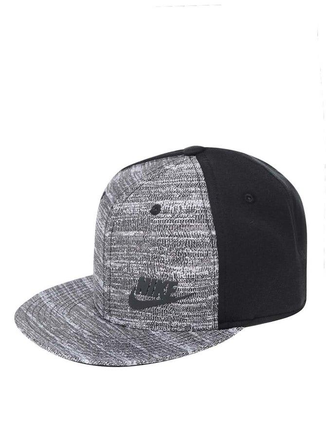 Čierno-sivá pánska šiltovka Nike Tech Pack True