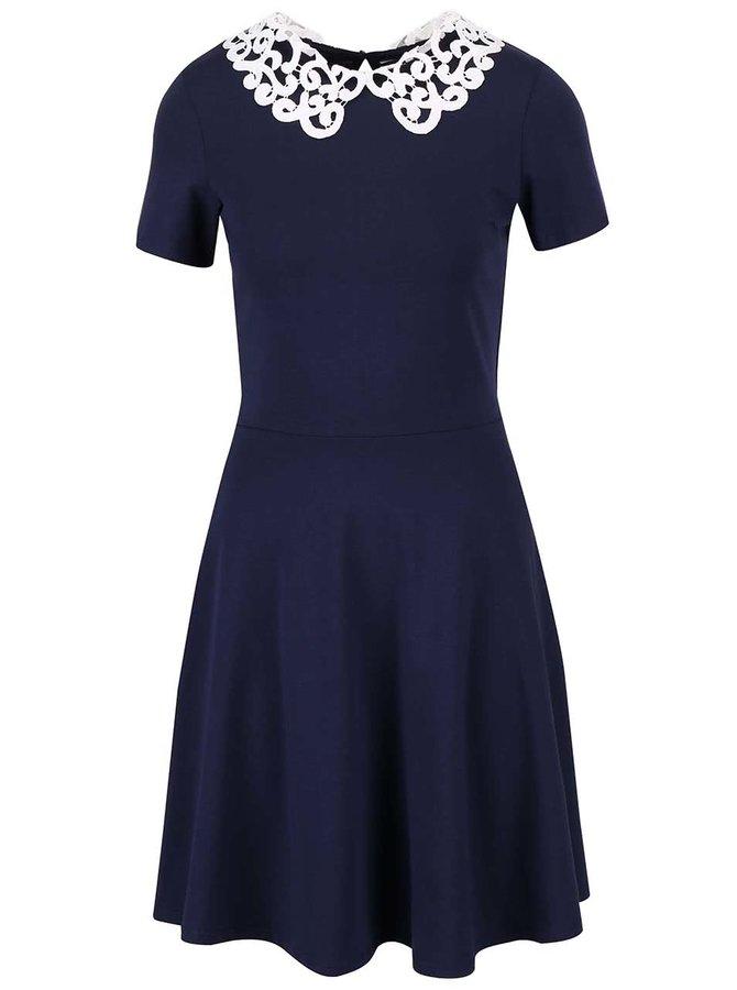 Rochie albastră Dorothy Perkins cu detalii din macrame