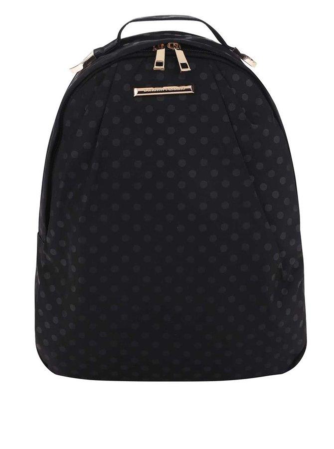 Čierny batoh s bodkovým vzorom Dorothy Perkins