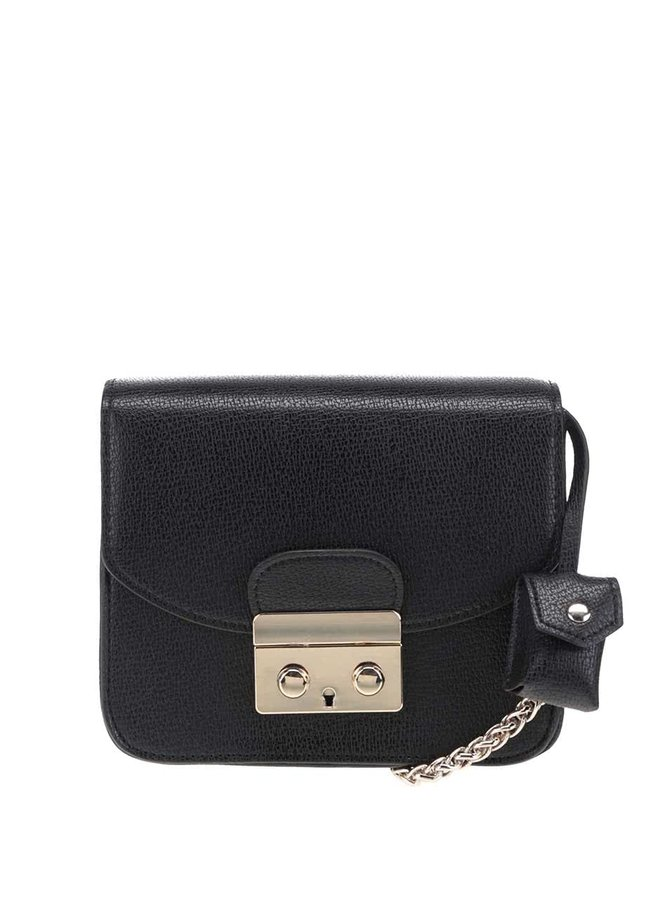 Čierna crossbody kabelka French Connection