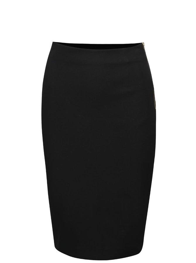 Černá pouzdrová sukně French Connection Street