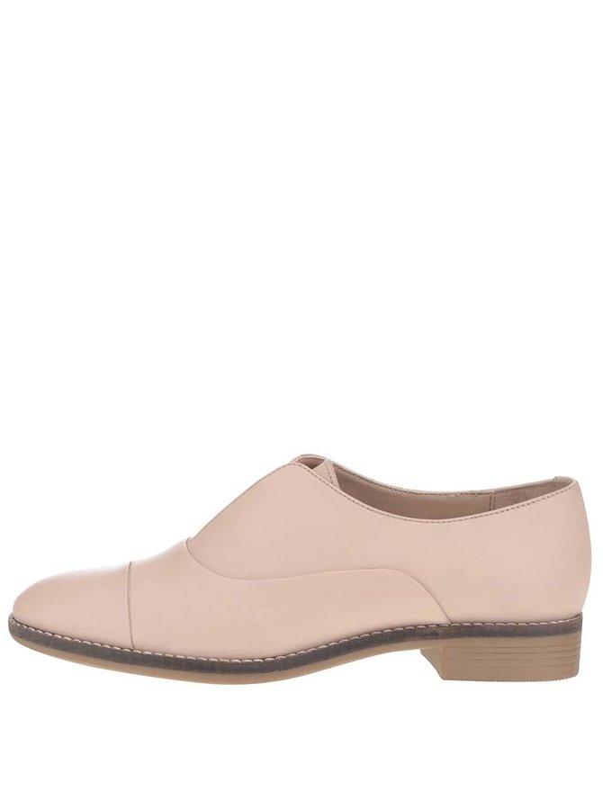 Pantofi bej ALDO Guelfo din piele pentru femei