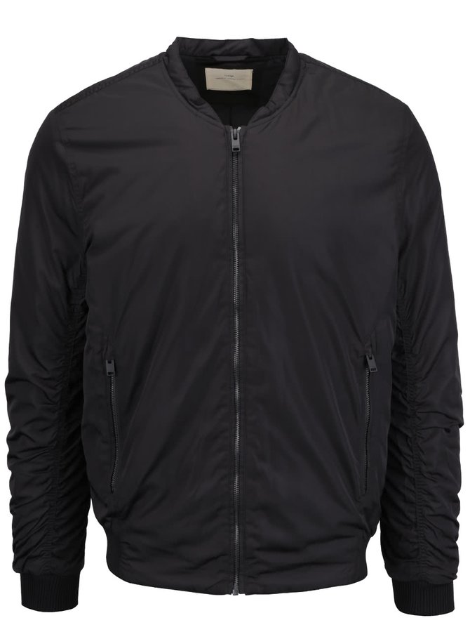 Čierny bomber Selected Homme Filson