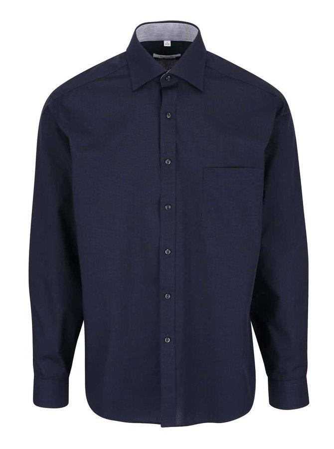Tmavomodrá formálna košeľa Seven Seas