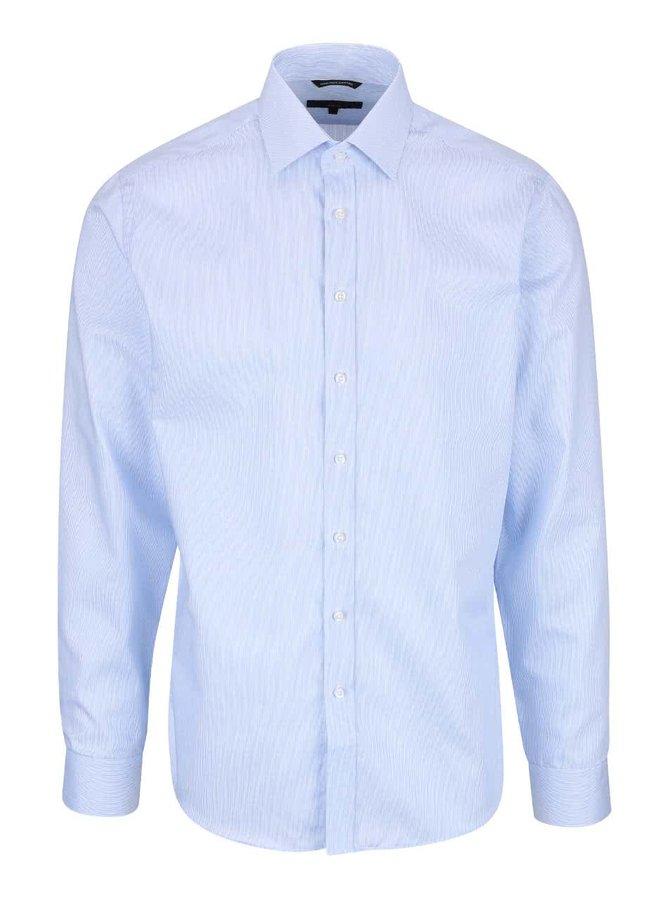 Světle modrá formální slim-fit košile Seven Seas