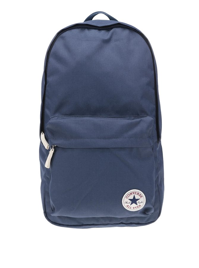 Tmavě modrý batoh s logem Converse Core Poly
