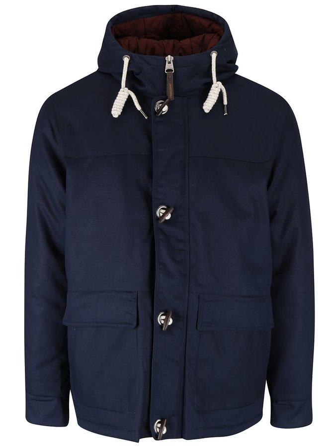 Tmavě modrá pánská bunda s prostornými kapsami Ragwear Conrad