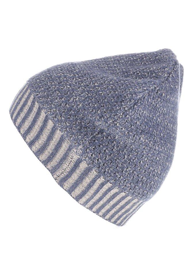 Modrá melírovaná dievčenská čiapka Name it Nitlouis