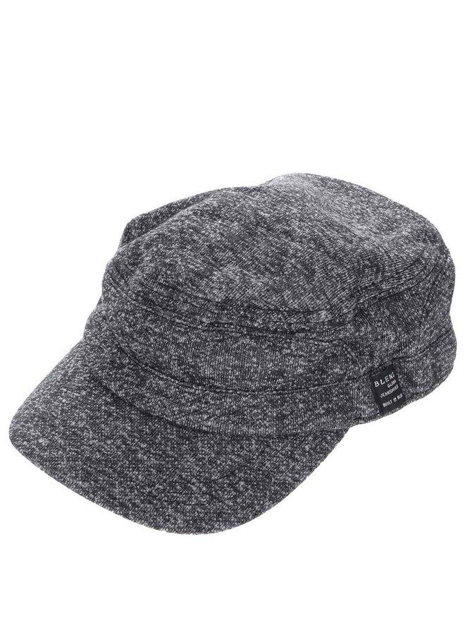 Șapcă gri Blend tricotată cu model discret