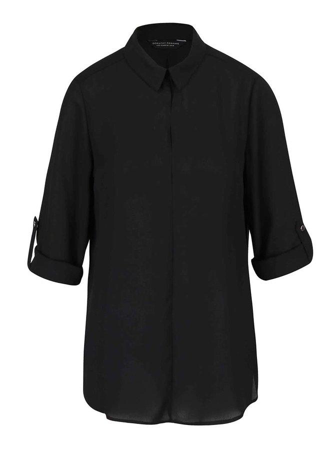 Bluză neagră Dorothy Perkins