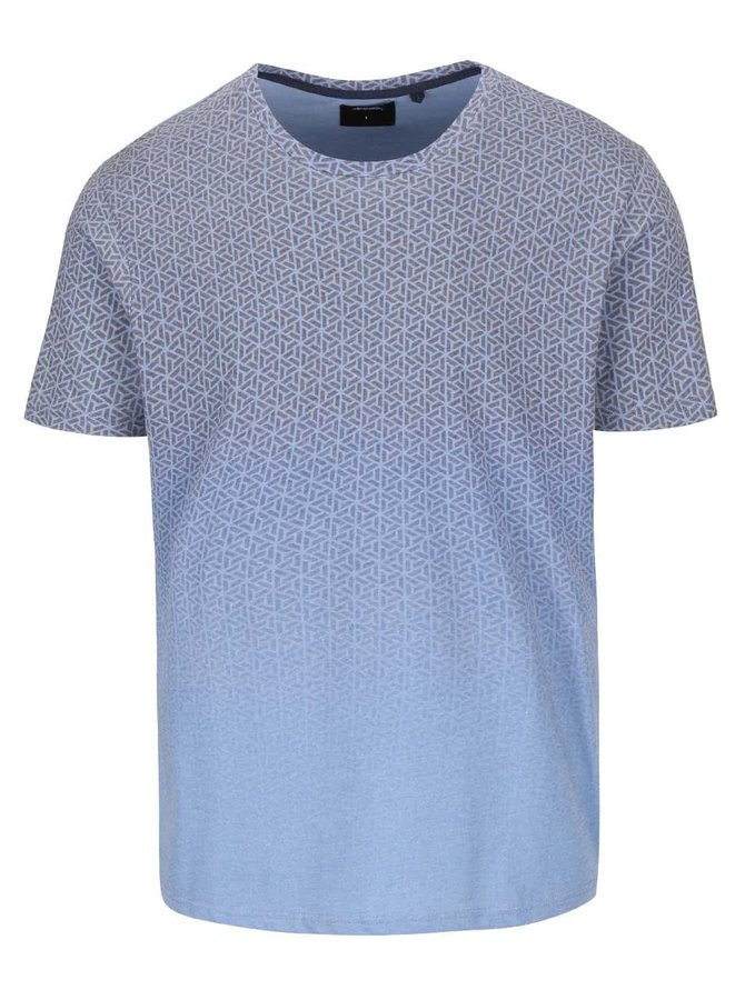 Tricou gri cu albastru Burton Menswear London
