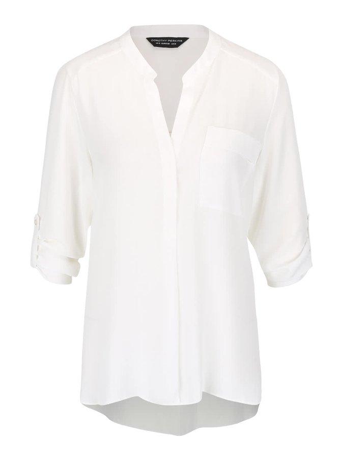 Cămașă albă tunică Dorothy Perkins