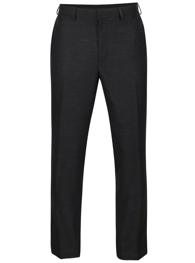 Pantaloni negri Burton Menswear London cu model discret