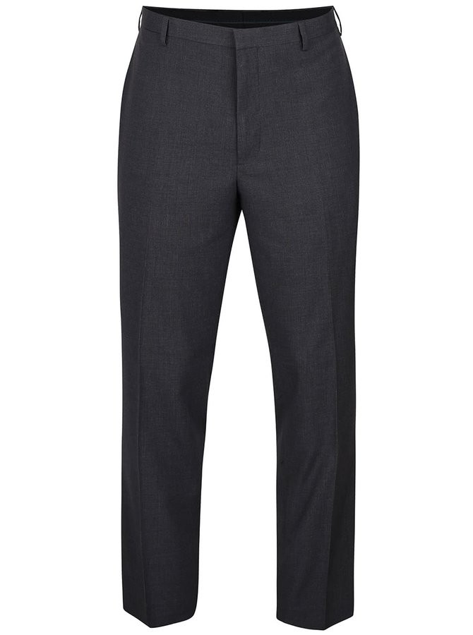 Sivé melírované skinny fit nohavice Burton Menswear London