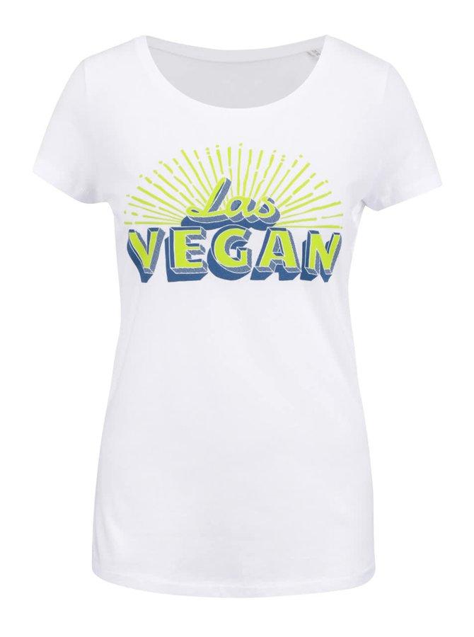 Bílé dámské tričko ZOOT Original Las Vegan