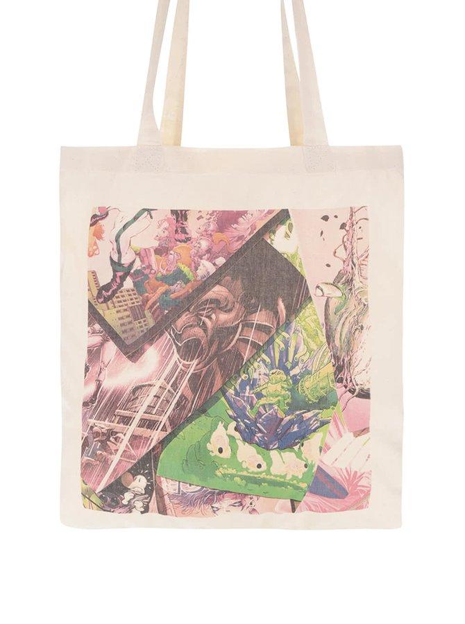 Béžová unisex plátenná taška ZOOT Original Komiksy