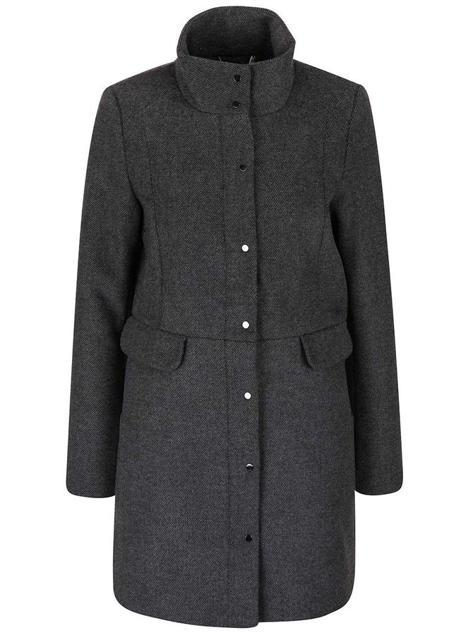 Palton gri închis Vero Moda One Dope
