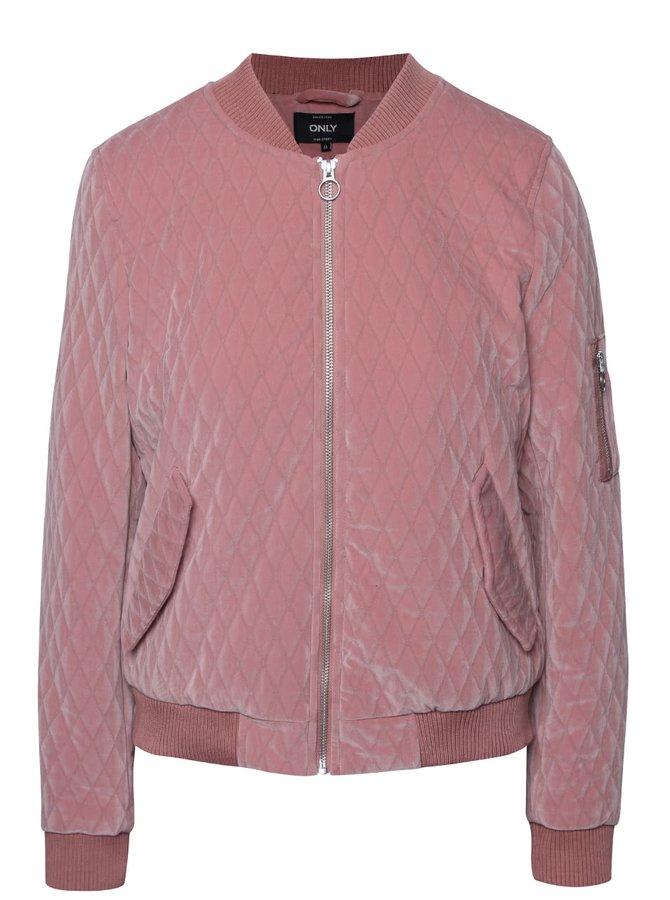 Jachetă bomber roz pal ONLY Darion
