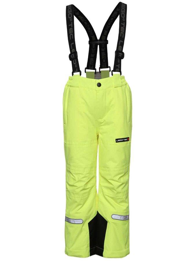 Pantaloni de ski galben neon LEGO Wear Pax