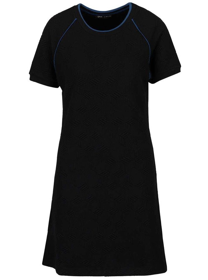Rochie neagră gsus cu mâneci scurte raglan